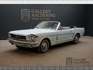 1965 Ford Mustang Solid base, loads of service history, great col For Sale (picture 1 of 6)