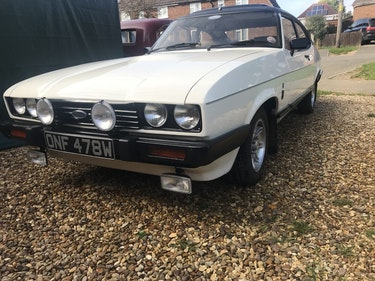 Picture of 1981 Very Rate Ford Capri 3.0 Ghia Factory Manual For Sale