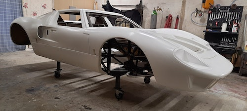 Picture of 1966 GT 40 Replica chassis body kit car For Sale