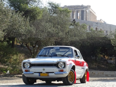 Picture of 1968 Ford Escort Mk1 Twin Cam signed by J.M. Latvala  For Sale