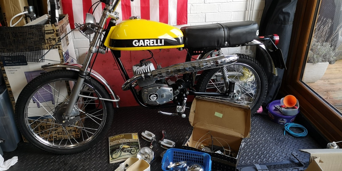 1973 Garelli Tiger Cross SOLD (picture 1 of 8)