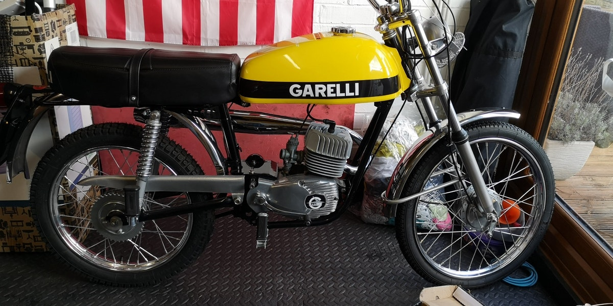 1973 Garelli Tiger Cross SOLD (picture 2 of 8)