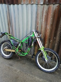 Picture of Gilera project bike 50cc, rolling chassis. £150 For Sale