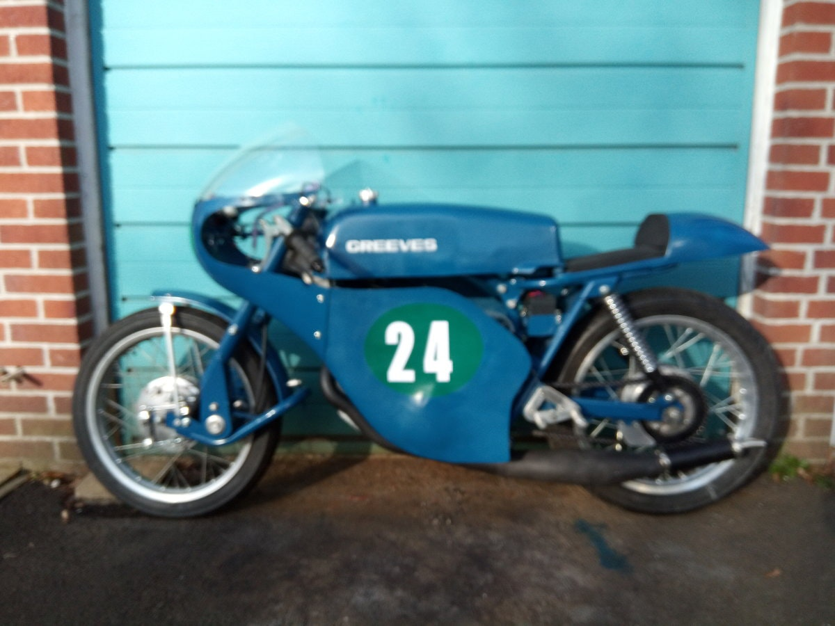 1965 Greeves Silverstone Tribute Bike For Sale (picture 1 of 6)