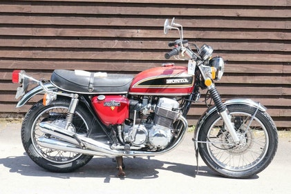 Picture of Honda CB750 CB 750 K6 1975 Runs and rides and just 6585 genu For Sale