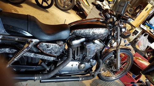Picture of 2004 Harley Davidson Sportster 1200cc custom paint work For Sale