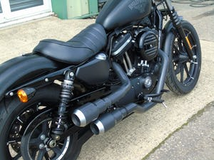 Harley-Davidson XL 883 N Iron 2016 Only 3400 Miles From New For Sale (picture 4 of 12)