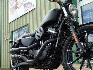 Harley-Davidson XL 883 N Iron 2016 Only 3400 Miles From New For Sale (picture 6 of 12)