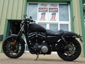Harley-Davidson XL 883 N Iron 2016 Only 3400 Miles From New For Sale (picture 7 of 12)