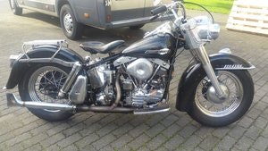 Picture of harley davidson FL 1964 panhead SOLD