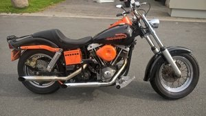 Picture of harley davidson FLH 1975 SOLD