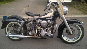 Picture of Harley Davidson duo glide  1961 SOLD
