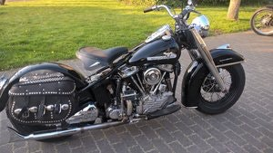 Picture of Harley davidson 1949 hydra glide  SOLD
