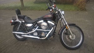Picture of 1990 harley davidson FXLR low rider custom SOLD