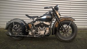 Picture of Harley davidson 1947 model U SOLD