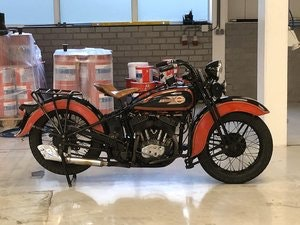Picture of Harley davidson Model R 1935 SOLD