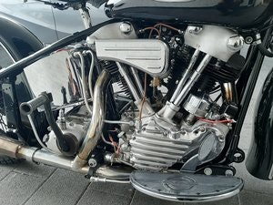 Picture of Harley Davidson knucklehead 1940 SOLD