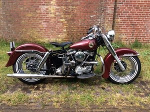 Picture of harley davidson duo glide 1958 SOLD