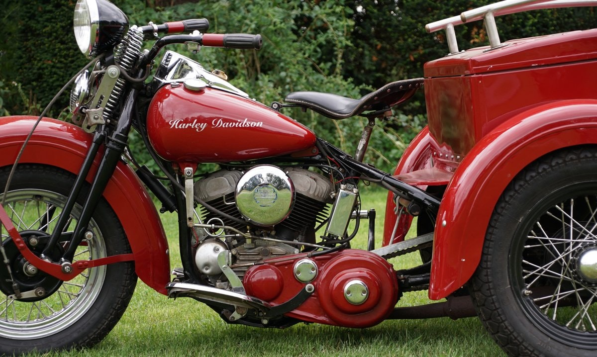 Harley Davidson 750cc Servicar 1945 For Sale (picture 3 of 5)