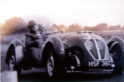 Picture of 1950 HEALEY SILVERSTONE, PERIOD RACE HISTORY, MILLE MIGLIA ELIGIB For Sale