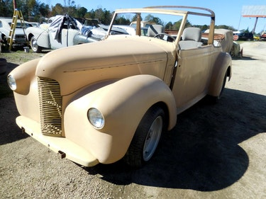 Picture of 1958 1948 Hillman Minx Convertible Rare Project Narrowed 9 inch For Sale