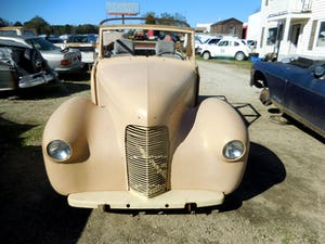 1958 1948 Hillman Minx Convertible Rare Project Narrowed 9 inch For Sale (picture 2 of 12)