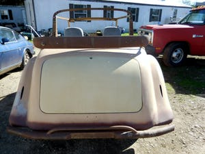 1958 1948 Hillman Minx Convertible Rare Project Narrowed 9 inch For Sale (picture 3 of 12)