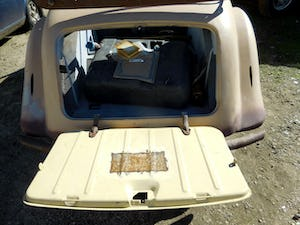 1958 1948 Hillman Minx Convertible Rare Project Narrowed 9 inch For Sale (picture 5 of 12)