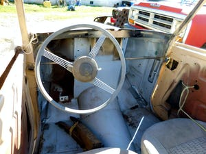 1958 1948 Hillman Minx Convertible Rare Project Narrowed 9 inch For Sale (picture 6 of 12)