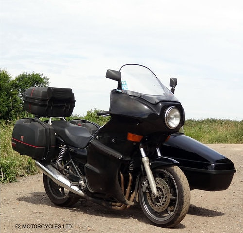 1995 Honda CB750 with nearly new sidecar, MOTed and running SOLD (picture 1 of 6)