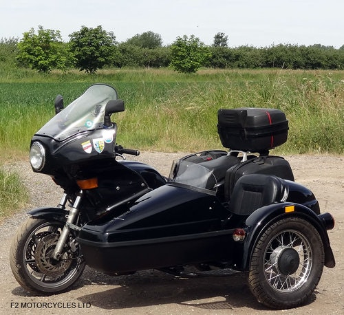 1995 Honda CB750 with nearly new sidecar, MOTed and running SOLD (picture 4 of 6)