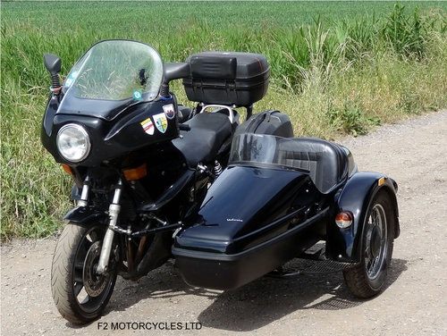1995 Honda CB750 with nearly new sidecar, MOTed and running SOLD (picture 6 of 6)