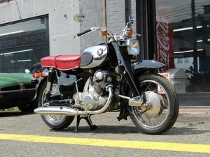 Picture of HONDA C72 (1962) from Japan For Sale