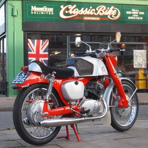 Picture of 1961 Probably The Best Honda CB92. SOLD TO CAROLE. SOLD