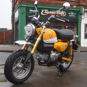 Picture of 2018 Z125 MA-K Monkey Bike, 220 Dry Miles From New. SOLD