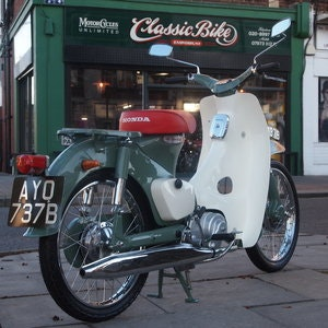 Picture of 1964 Honda C100 49cc Enjoy L@@King at Pictures. For Sale
