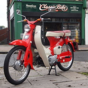 Picture of 1963 Honda C100 49cc Enjoy L@@King at Pictures. For Sale