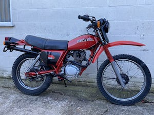 1981 HONDA XL 185 CLASSIC TRAIL ENDURO ONE OWNER! £3995 PX TL 125 For Sale (picture 1 of 8)