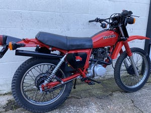1981 HONDA XL 185 CLASSIC TRAIL ENDURO ONE OWNER! £3995 PX TL 125 For Sale (picture 3 of 8)