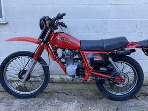 1981 HONDA XL 185 CLASSIC TRAIL ENDURO ONE OWNER! £3995 PX TL 125 For Sale (picture 6 of 8)