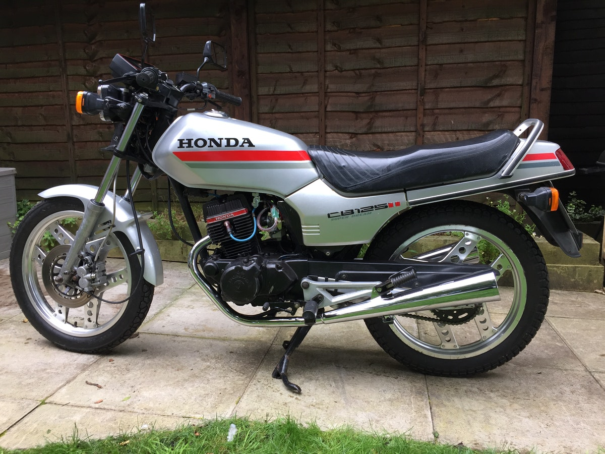 1982 Honda CB125TDC Superdream Twin For Sale (picture 2 of 2)