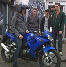 Picture of 2006 The Inbetweeners Honda 125! For Sale