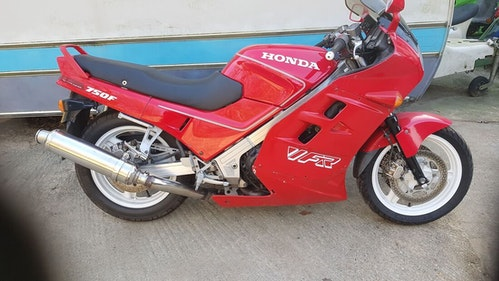 Picture of 1988 Honda VFR 750 50000 miles £1295 on the road For Sale