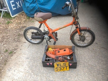 Picture of 1978 Honda express 50cc auto scooter project, £200. For Sale