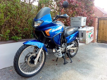 Picture of 2003 Transalp  Fully prepared overland adventure motorcycle For Sale