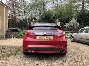 2007 Honda Civic Type R 1 Previous Owner, 100k Miles, FSH For Sale (picture 1 of 9)