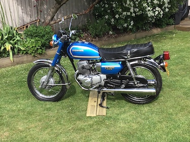 Picture of 1981 Classic honda cd 200 benly For Sale