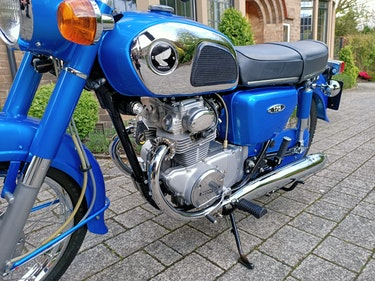 Picture of 1973 Honda CD175 A4  - Sapphire Candy Blue For Sale