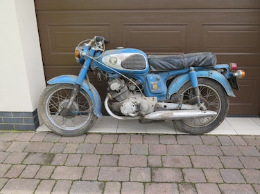 Picture of A 1968 Honda CD175  - 30/6/2021 For Sale by Auction