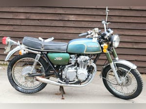 1972 Honda CB350 4 CB 350 4 First year model, untouched bar pipes For Sale (picture 1 of 12)